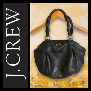 J CREW Black Leather Purse